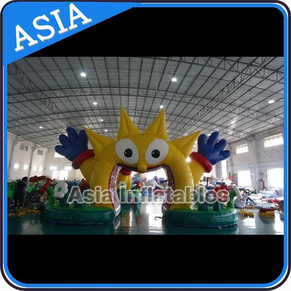 Custom New Design Welcome Gate Inflatable Arch, Inflatable Red Apple Archway