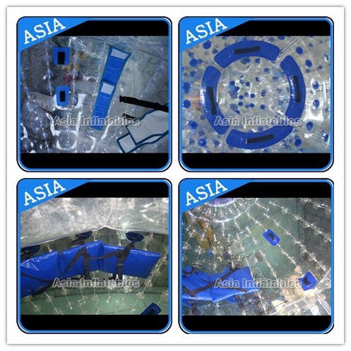 TPU or PVC Human Zorb Ball , Water Walking Zorb , Inflatable Ball Toys
