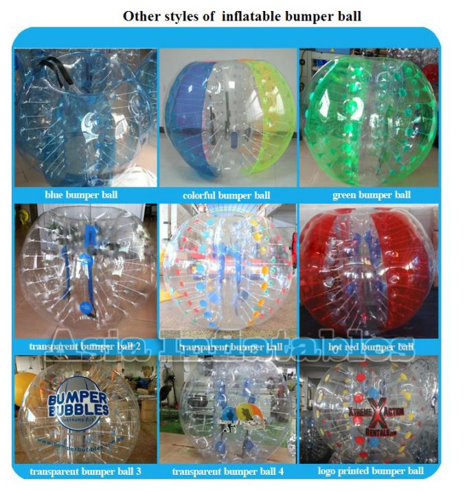 Popular Outdoor Games Body Zorbing Ball For Adult And Children