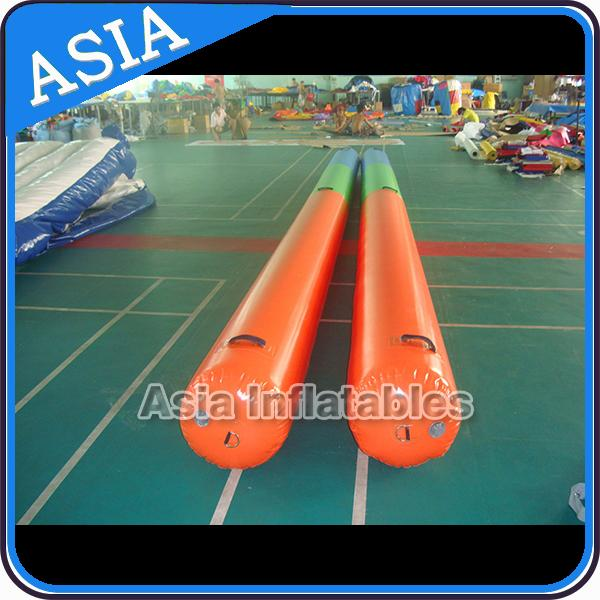 Inflatable swimming buoy with customized logo for swim event