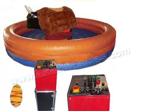 Hot sale inflatable bull rodeo machine ,inflatable mechanical bull for outdoor sport games