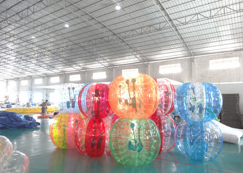 china nowości na temat Inflatable Bumper Ball Bubble Factory