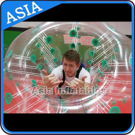 Chiny 1.0mm TPU Soccer bubble for sale , Human soccer bubble , Bubble ball soccer fabryka