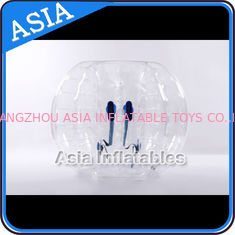 Chiny 100% PVC Inflatable Bumper Ball ,  Half Red Bubble Soccer , Loopy Balls , Soccer Bubble Balls fabryka