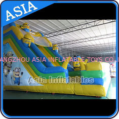 Chiny PVC Tarpaulin Commercial Inflatable Bouncer Inflatable Minions Bouncy Castle fabryka