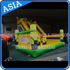 Chiny Minions Commercial Inflatable Bouncer For Sale / Inflatable Minions Bouncer Slide fabryka