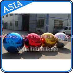 Chiny Filled Air Mirror Balloons Ball PVC , Advertising Silk  Ball fabryka