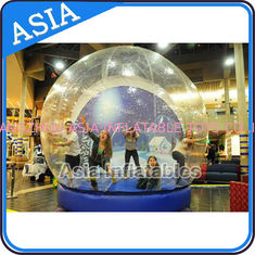 Human Inflatable Bubble Tent Xmas Inflatable Snow Globe EN - 71