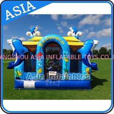 Chiny Sea World Bouncy House Inflatable Bouncer Children Amusement Sports fabryka