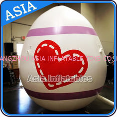 Chiny Egg Shape Helium Balloon And Blimps Inflatable Easter Balloons Customized Large fabryka
