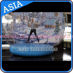 Strong PVC Christmas Snow Globe / Inflatable Bubble Tent For Sale