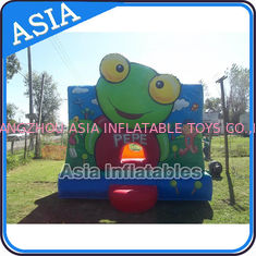 Chiny Inflatable Bouncer Sapo Pepe Bouncy Castle For Party Hire Outdoor Games fabryka