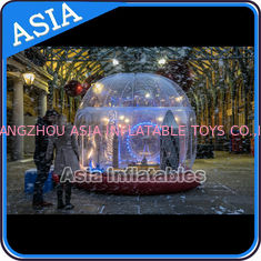 Chiny Durable Human Inflatable Snow Globe / Inflatable Tent For Chirstmas fabryka
