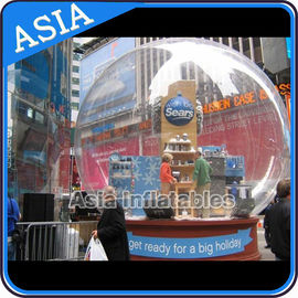 Airblown Yard Inflatable Bubble Tent Decoration , Inflatable Christmas Snow Globe