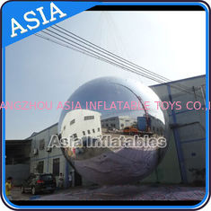 Chiny Silver Customized 8m Advertising Inflatable Commercial Mirror Balloon fabryka