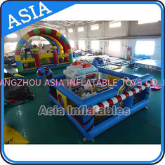 Chiny 5ml Commercial Inflatable Bouncer Circus Bounce Playground Fun City fabryka
