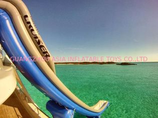Chiny Outdoor PVC Inflatable Aqua Sports,  Marine Slide For Yacht, Yacht Climbing fabryka