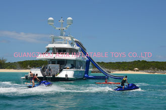 Chiny Giant Inflatable Water Sports,Inflatable Yacht Sliding Sports Games fabryka