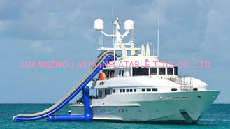 Chiny Ocean Floating Spots Games, Inflatable Water Slides For Yacht fabryka