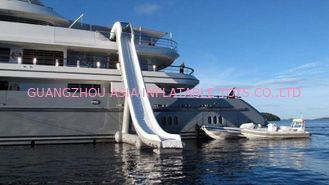 Chiny Customized Water Slide Inflatable Water Sports on yacht 0.90mm Pvc Tarpaulin fabryka