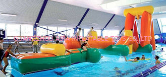 Chiny Inflatable Aqua Challenging Sports, Inflatable Water Floating Obstacles fabryka