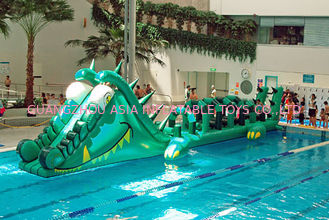 Chiny Water Challenge Sports Equipment, Inflatable Water Obstacle Courses fabryka