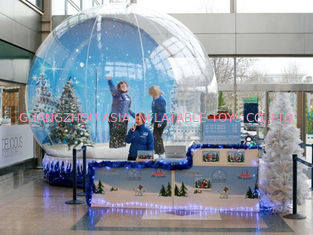 Fantasy Inflatable Christmas Snow Globe / Bubble Tent for Sale