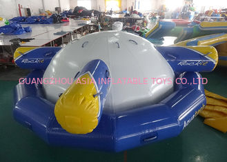 Chiny Inflatable Floating , Spinning Planet Saturn For Water Sports fabryka