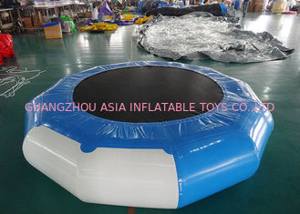 Chiny Inflatable Bounce Platform , Inflatable Water Trampoline Sports fabryka