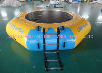 Chiny Commercial Water Games Inflatable Crocodile Water Trampoline With 0.9mm Pvc Tarpaulin fabryka