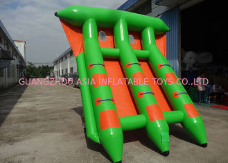 Chiny 4-6 Passangers InflatableTowable Sport Games/ Fly Fishing Boat Fish Raft Boat fabryka