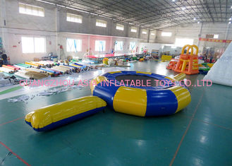 Chiny Rave Aqua Jump Eclipse Water Parks , Inflatable Water Games Chinese Supplier fabryka