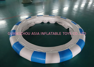 Chiny Aquaglide Supertramp Water Trampoline Park , Inflatable Water Games fabryka
