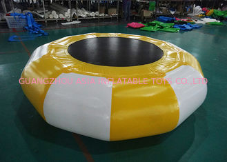 Chiny Hot Sale Platinum Supertramp Water Trampoline ,  Inflatable Water Games fabryka