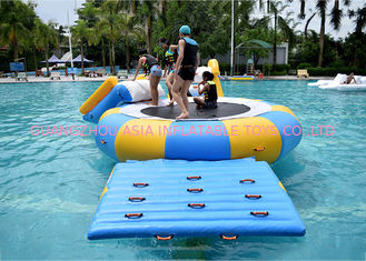 Chiny China Inflatable Water Trampoline Water Sport Toys , Inflatable Water Games fabryka