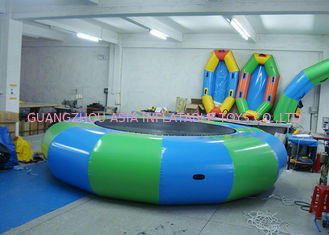 Chiny Commercial Air Tight Inflatable Water Trampoline For Water Sport Games fabryka