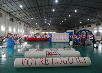 Chiny Inflatable Promoting Strip Buoy For Ocean Or Lake Advertising , Inflatable tube buoys fabryka