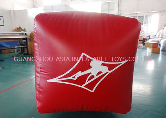 Chiny Water Triathlons Advertising Inflatable Promoting Buoy For Ocean Or Lake fabryka