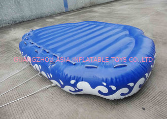 Chiny 4 Passangers Inflatable Water Ski Tubes Towable Water Surfboard Platform For Beach fabryka