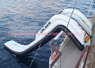 Chiny Outdoor Inflatable Water Floating Sports, Inflatable Yacht Slide For Boat/Yacht fabryka