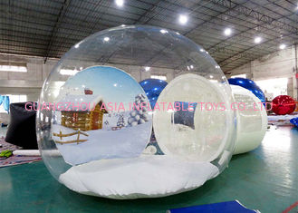 Inflatable Snow Globe for Sale with Background