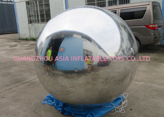 Chiny Outdoor Live Concert Advertising Inflatables Decoration Sliver Reflect Inflatable Mirror Balloon fabryka