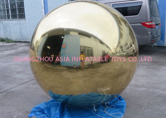 Chiny Inflatable Gold Mirror Balloon With Reflection Effect For Decoration On The Floor fabryka