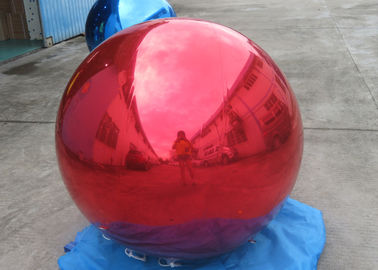 Inflatable Gold Mirror Balloon With Reflection Effect For Decoration On The Floor