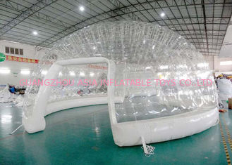 Chiny High Grade Airtight Clear Inflatable Event Tent / Budynek nadmuchiwanej kopuły fabryka