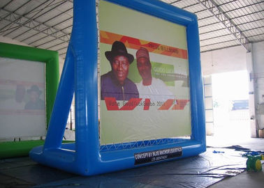 Chiny PVC Inflatable Billboard , Advertising Inflatables Water Billboard fabryka