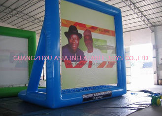 Chiny Crazy Event Advertising Inflatables Billboard /  Inflatable Floating Billboard fabryka