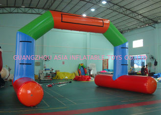 Chiny Inflatable Airtight Water Floating Stand Arch For Advertising Promotion Or Game fabryka