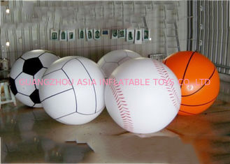 Chiny Giant Inflatable Football Basketball Sports Balloons Advertising Sport Ball fabryka