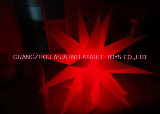 Chiny Party / Event Ceiling Decoration Inflatable Star/ LED Star Light fabryka
